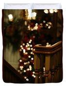 Christmas Banister 1 Duvet Cover