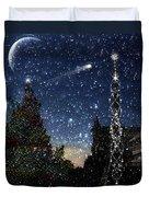 Christmas Baroque Duvet Cover