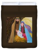 Christmas Blessing Duvet Cover