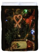Christmas Bokeh 3 Duvet Cover