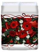 Christmas Bouquet  Duvet Cover