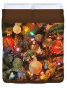 Christmas Branches Duvet Cover