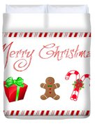 Christmas Card 25 Duvet Cover