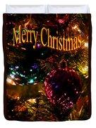 Christmas Card 3 Duvet Cover