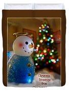 Christmas Card II Duvet Cover
