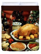 Christmas Dinner Duvet Cover