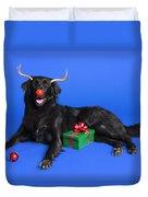 Christmas Dog Duvet Cover