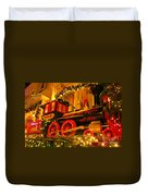 Christmas Express Duvet Cover