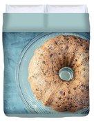 Christmas Fruitcake Duvet Cover