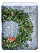Christmas Garland Duvet Cover
