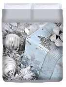 Christmas Gift Box And Decorations Duvet Cover
