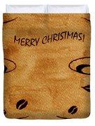 Christmas Greeting Duvet Cover