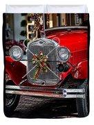 Christmas Grillwork Duvet Cover