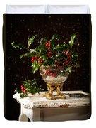 Christmas Holly Duvet Cover