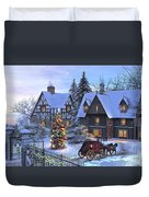 Christmas Homecoming Duvet Cover