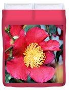 Christmas In A Flower Duvet Cover