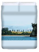 Christmas In A Row.nz Duvet Cover