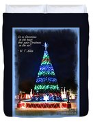 Christmas In The Air Duvet Cover