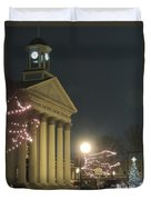Christmas In Uptown Lexington 1 Duvet Cover