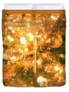 Christmas Lights Duvet Cover