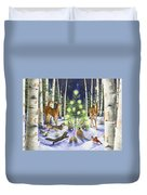 Christmas Magic Duvet Cover by Lynn Bywaters