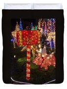 Christmas Mailbox Duvet Cover