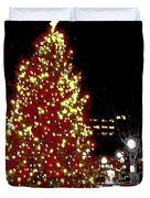 Christmas On Public Square Three Duvet Cover