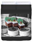 Christmas Pastries Duvet Cover