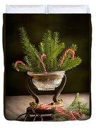 Christmas Pine Duvet Cover