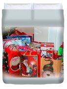 Christmas Presents Duvet Cover