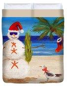 Christmas Sandman Duvet Cover