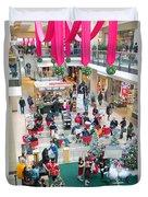 Christmas Shopping Duvet Cover