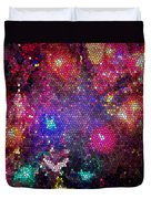 Christmas Stained Glass  Duvet Cover