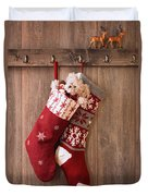 Christmas Stockings Duvet Cover