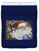 Christmas Stowaway Duvet Cover