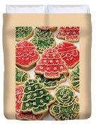 Christmas Sugar Cookies Duvet Cover