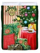 Christmas Tea Duvet Cover