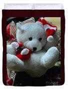 Christmas Teddy Bear Duvet Cover