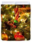 Christmas Tree Background Duvet Cover