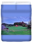 Christmas Tree Farm Duvet Cover