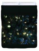 Christmas Tree Lights Duvet Cover