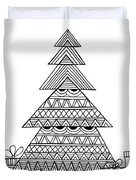 Christmas Tree Duvet Cover