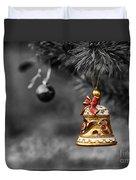 Christmas Tree Ornament Duvet Cover