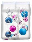 Christmas Tree Tree Duvet Cover by Anne Gilbert