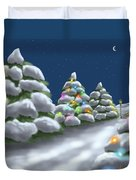 Christmas Trees Duvet Cover