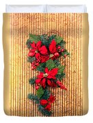 Christmas Wall Hanging Duvet Cover