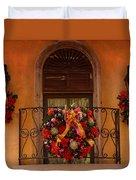 Christmas Window Duvet Cover