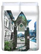 Christ's College Canterbury Duvet Cover