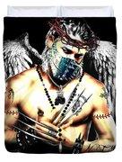 Christy Angel Mask Duvet Cover