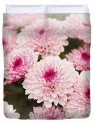Chrysantemum Pink Duvet Cover